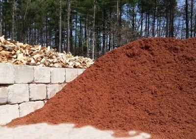 Red Hemlock Mulch